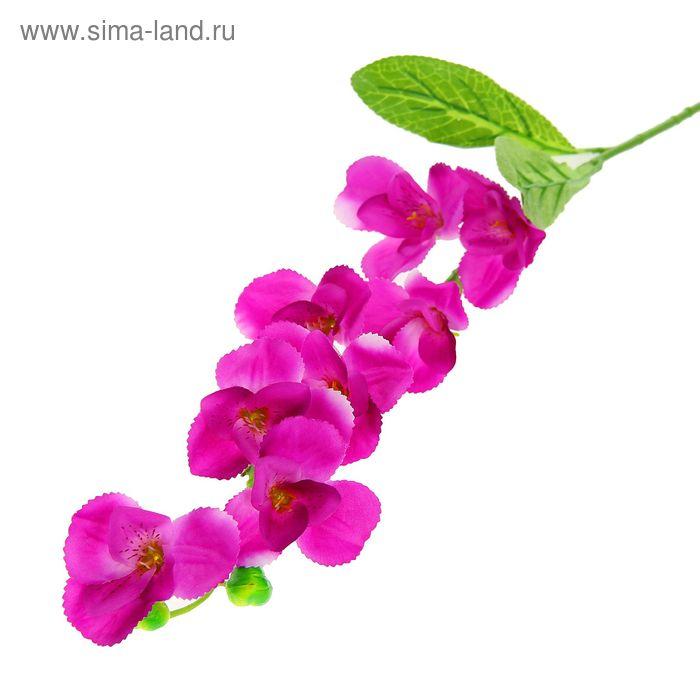 """Цветы искусственные """"Орхидея Зигзаг"""" фиолетовая"""