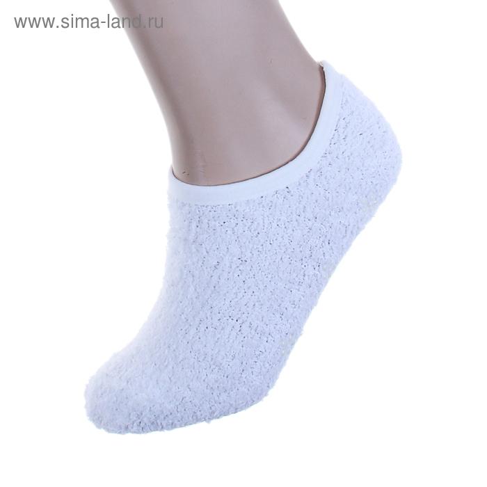 """Носки-тапочки """"Collorista"""" Белый, р. 36-39, 100% п/э, акрил"""