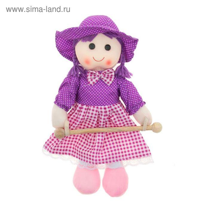 """Мягкая игрушка кукла полотенцедержатель """"Вика"""", цвета МИКС"""