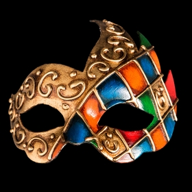 Mask Arlecchino Onda, Venice