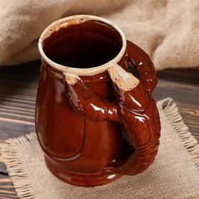 """Бокал """"Евро Рак"""", коричневый, 1 л, микс - фото 1398795"""