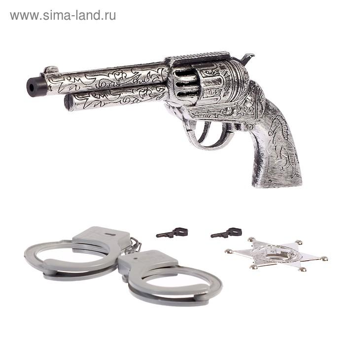 """Набор ковбоя """"Дикий запад"""", цвета МИКС"""
