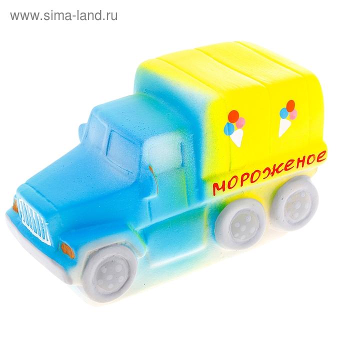 """Резиновая игрушка """"Машина мороженое"""""""