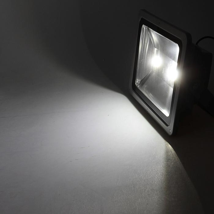 Прожектор светодиодный серия SLIM 150W, IP66, 13500Lm, 6000К БЕЛЫЙ ХОЛОДНЫЙ