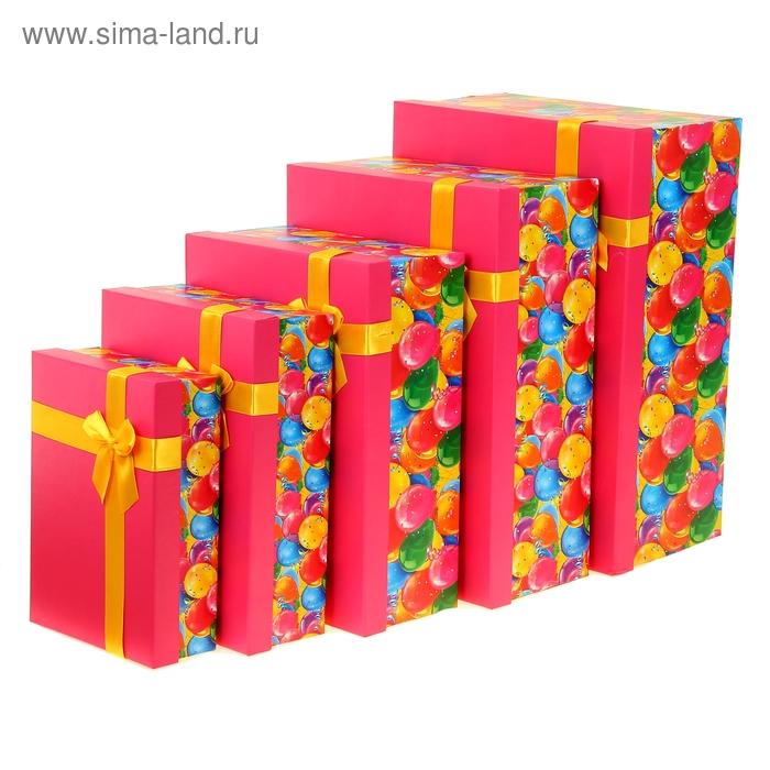 """Набор подарочных коробок 5 в 1 """"День рождения"""""""