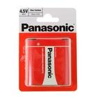 Батарейка солевая Panasonic Zinc Carbon, 3R12, блистер, 1 шт.