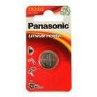 Батарейка литиевая Panasonic Power Cells, CR2032-1BL, блистер, 1 шт