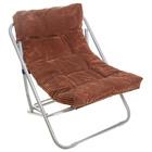 Кресло складное Briz, до 80 кг, размер 60 x 64 x 74 см, цвет коричневый