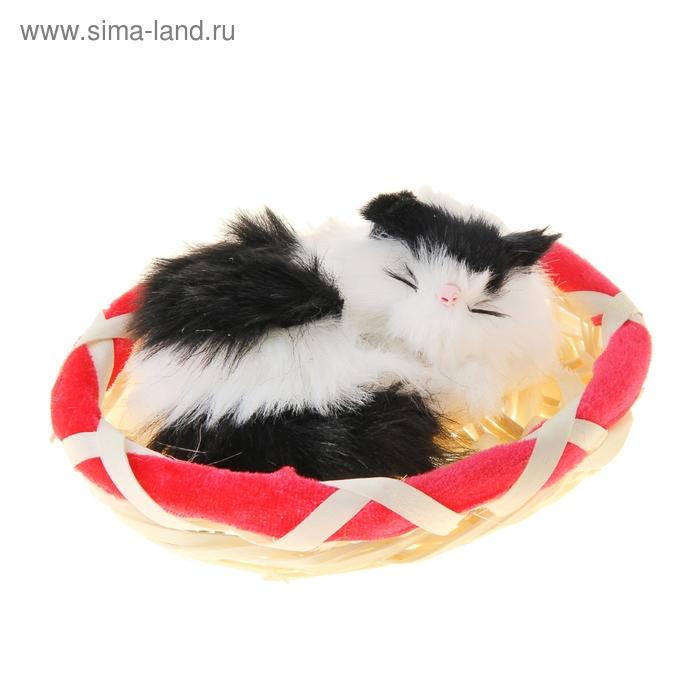 """Пушистик """"Спящий кот"""", цвета МИКС"""