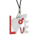 """Подвеска для телефона """"Love"""", цвета МИКС"""