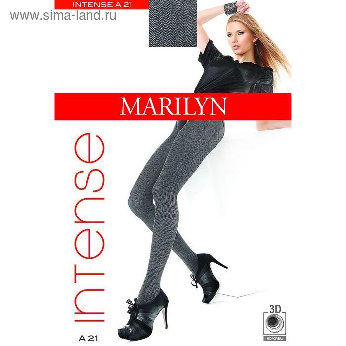 Колготки женские MARILYN INTENSE A21 60 (botello/black, 3/4)