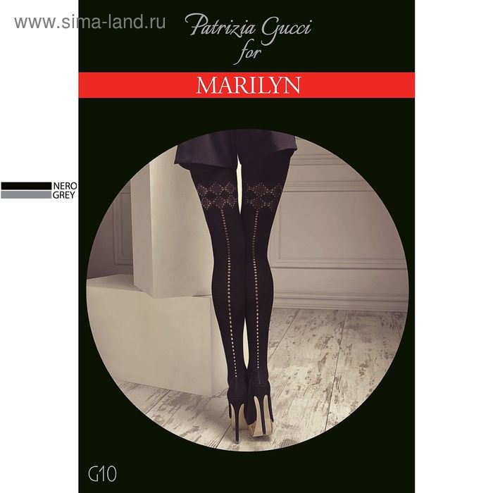 Колготки женские MARILYN GUCCI G10 120 (grey, 1/2)