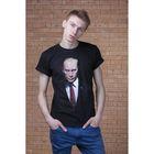 """Футболка мужская Collorista 3D """"Путин ВВ"""", размер M (46), 100% хлопок, трикотаж"""