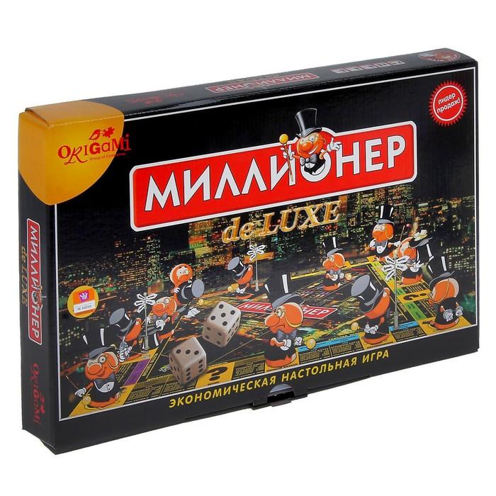 """Настольная игра """"Миллионер-Делюкс"""""""