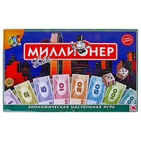 Настольная игра «Миллионер-элит», мягкая коробка