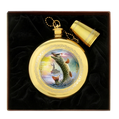 """Подарочный набор """"Рыбалка.Щука"""" 240 мл"""