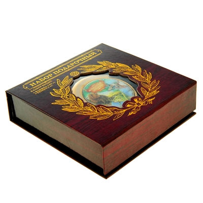 """Подарочный набор """"Карта.Русский промысел"""" 240 мл"""