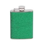 """Фляжка """"Блёстка"""", 120 мл, зелёный"""