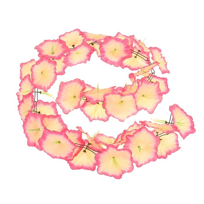 Гавайская гирлянда ''Лилия'', цвет розово-бежевый 323653