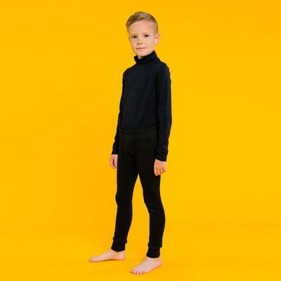 Трико для мальчика, рост 152 см (38), цвет черный 1110