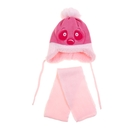 """Комплект детский зимний """"Панда"""": шапка, шарф, объем головы 46-48см (1-2года), цвет микс"""