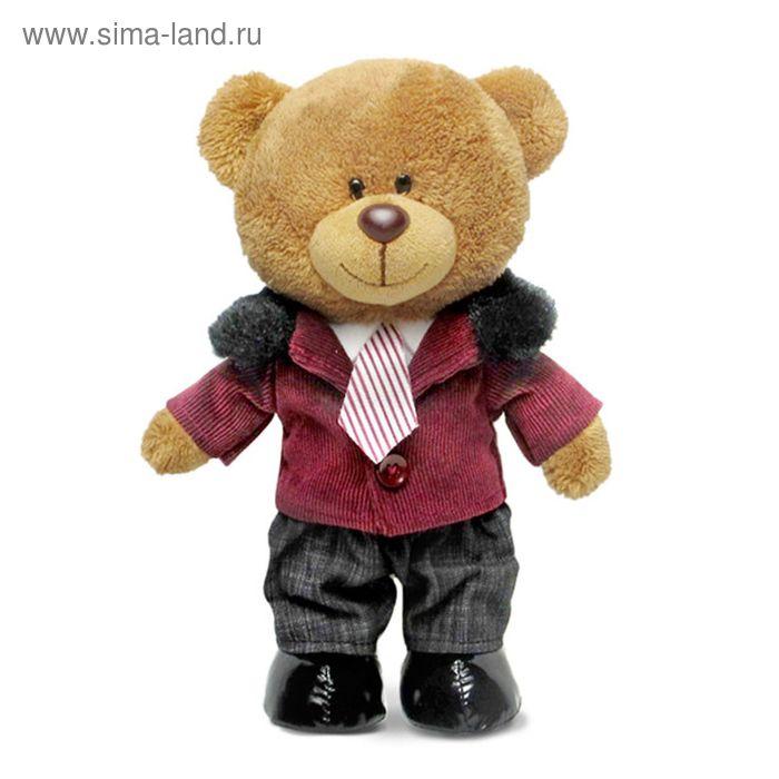 Мягкая игрушка «Медведь Оливер в курточке» музыкальная