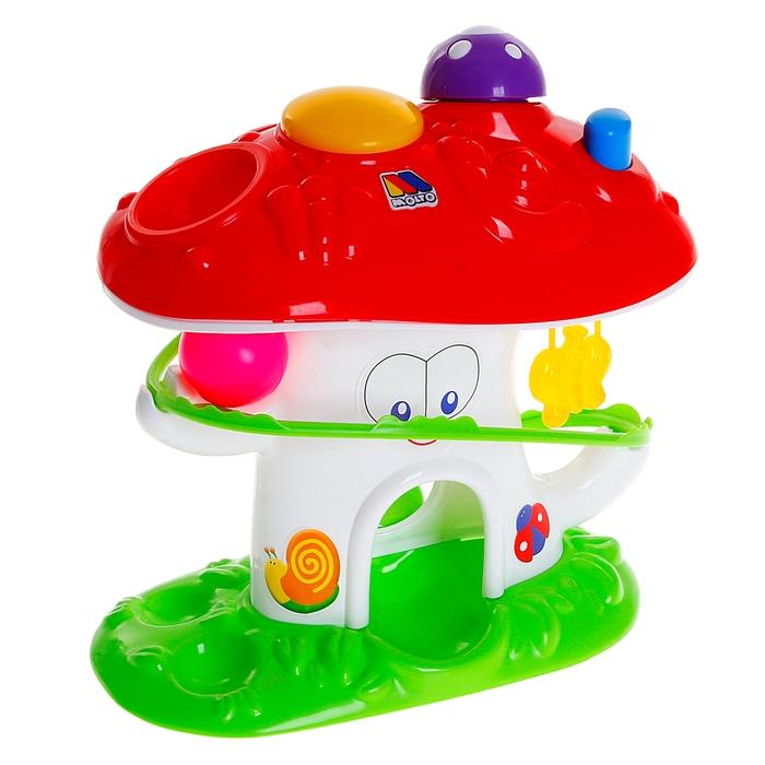 Развивающая игрушка «Забавный гриб»