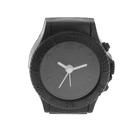 "Alarm clock ""wristwatch"", black 6.5x6 cm"