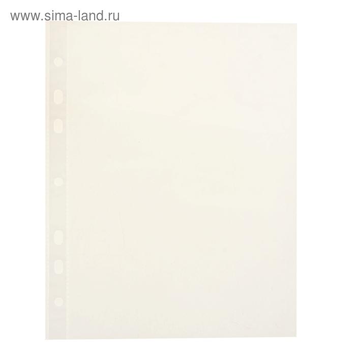 Файл-вкладыш А5 упаковка 100 штук Clear Standard прозрачный, EK 37014