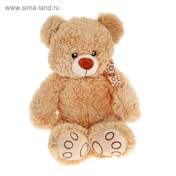 "Мягкая игрушка ""Медвежонок Тони"" бежевый"
