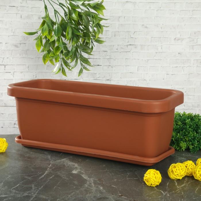 Ящик для цветов 36х15х13 см
