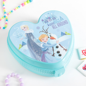 Шкатулка детская 'Холодное сердце', цвет бирюзовый Ош