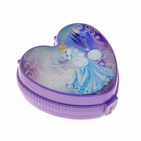 Шкатулка детская 'Золушка', цвет фиолетовый Ош