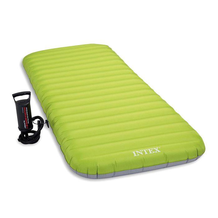 Матрас надувной с ручным насосом, 76 х 191 х 13 см, 64780 INTEX