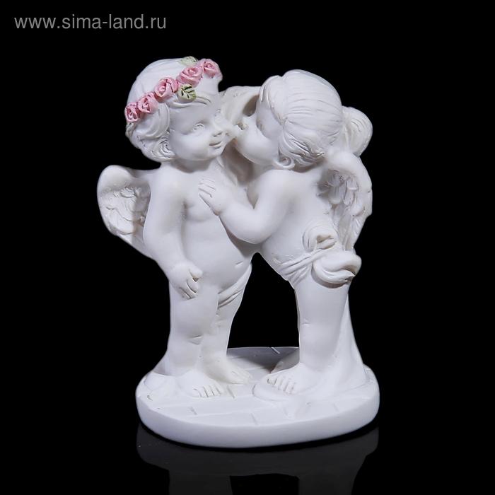 "Сувенир ""Ангелы-поцелуйчик"" на подставке"