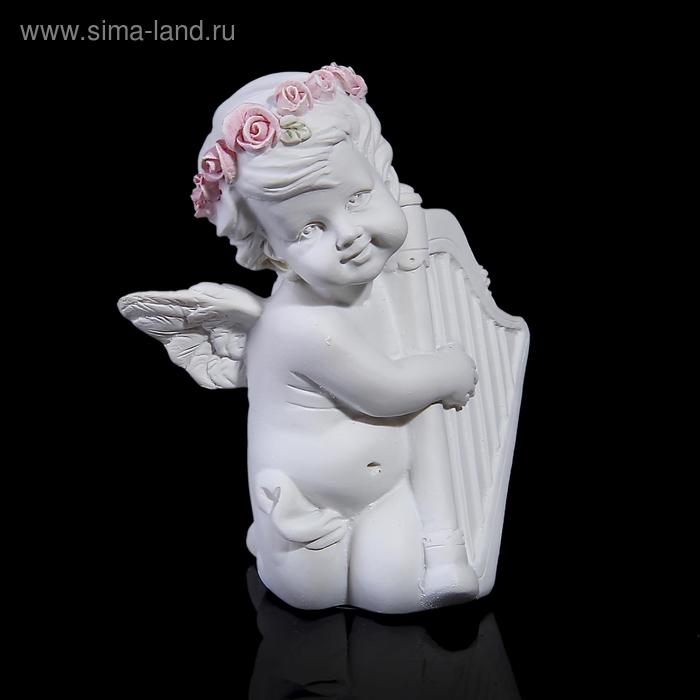 """Сувенир """"Ангел с арфой/ с барабаном"""" МИКС"""