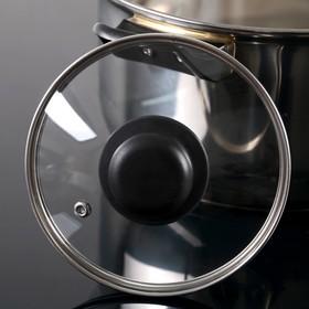 {{photo.Alt || photo.Description || 'Крышка для сковороды и кастрюли стеклянная, d=14 см, с прикручивающейся пластиковой ручкой'}}