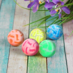 Мяч «Трещины», 3,2 см, цвета МИКС Ош