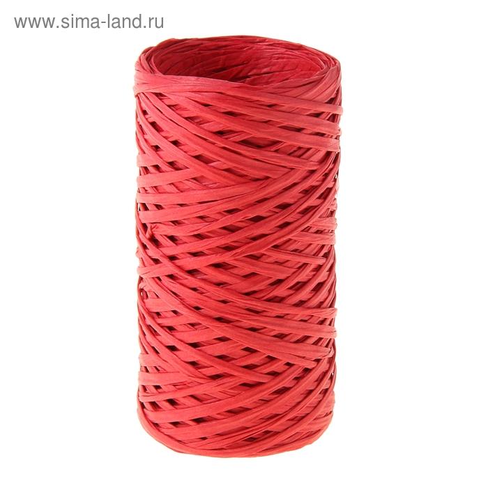 Шпагат декоративный, цвет красный