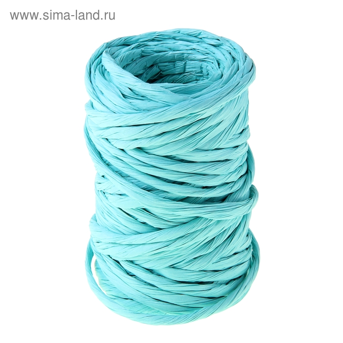 Шпагат декоративный, цвет голубой