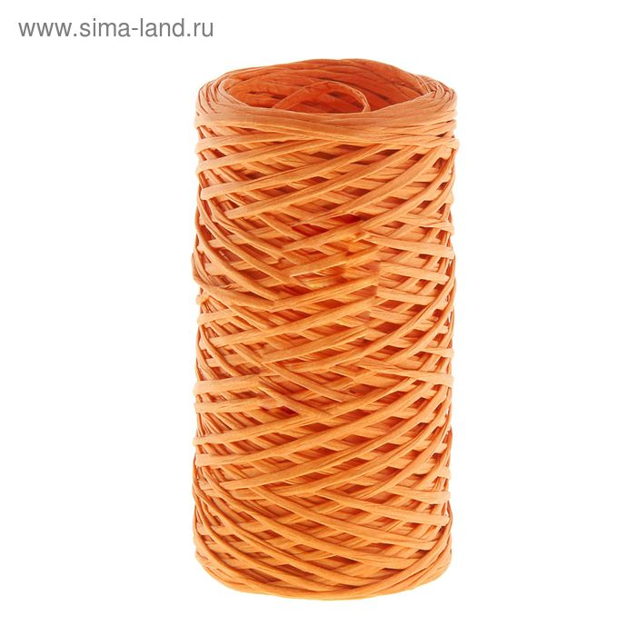 Шпагат декоративный, цвет оранжевый