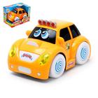 """Машина """"Бибика"""", световые и звуковые эффекты, работает от батареек, цвета МИКС"""