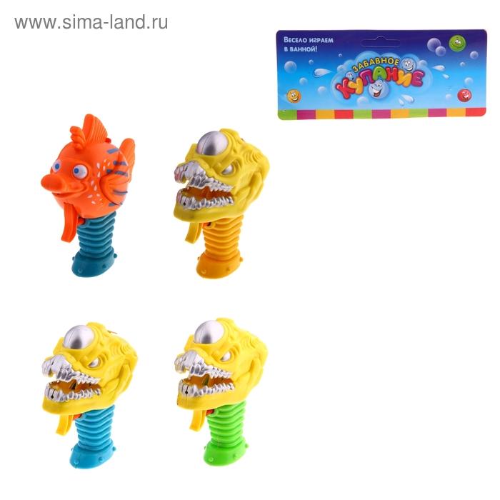 """Игрушка-брызгалка для ванны """"Монстрик """", МИКС"""