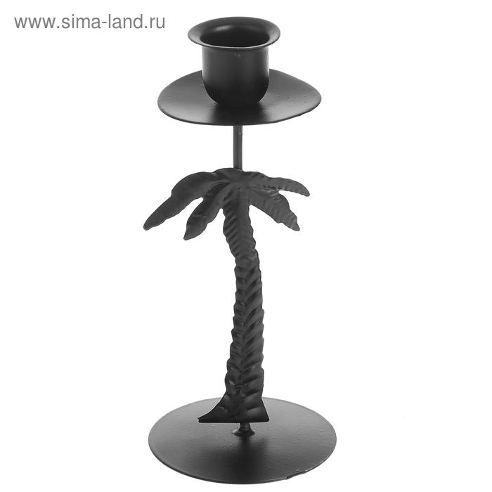 """Подсвечник """"Пальма"""" для узкой свечи"""