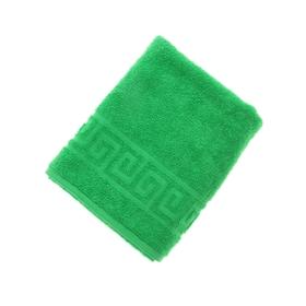 Terry towel monophonic Antey tsv class. Green 50 * 90cm 100% cotton 430 g / m2