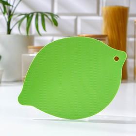 {{photo.Alt || photo.Description || 'Доска разделочная Доляна «Листик», 15×21,5 см, цвет МИКС'}}
