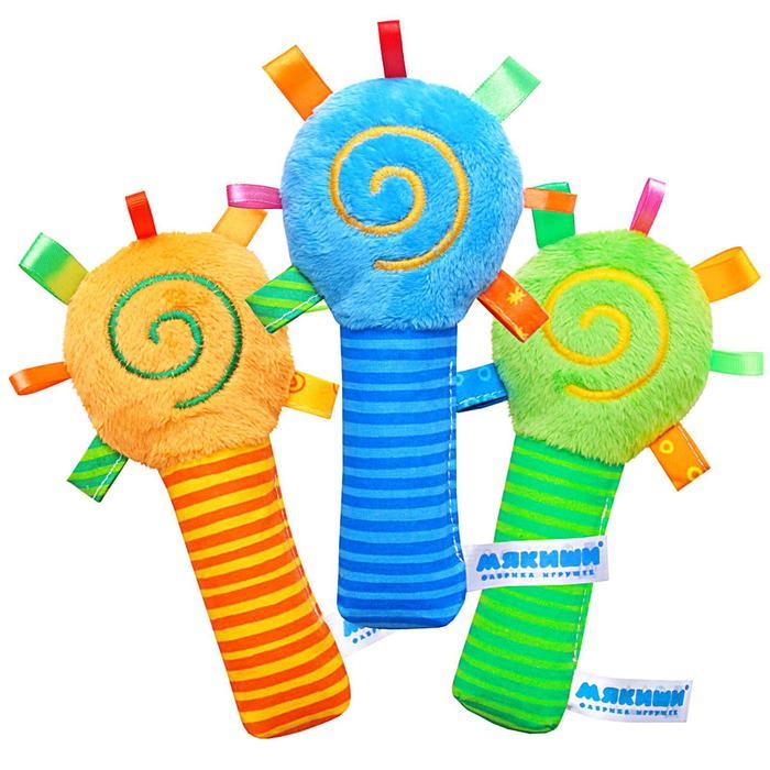Игрушка-погремушка «ШуМякиши Маракас», цвета МИКС - фото 76143020