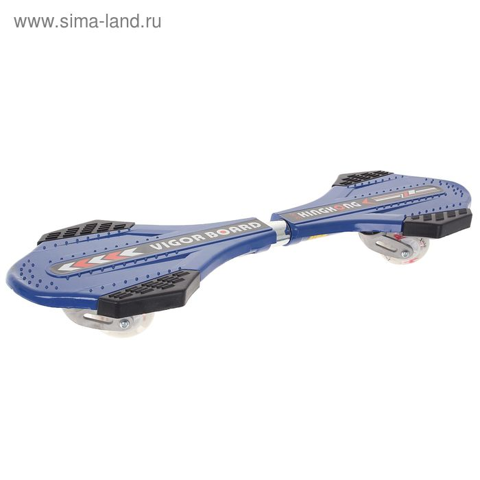 Роллерсерф OT-100, размер 79x22 см, алюминиевая рама, колеса PU, d=70 мм, до 50 кг, МИКС