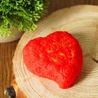 """Сувенир световой """"Сердечко""""с датчиком от прикосновения с водой, горит разными цветам"""