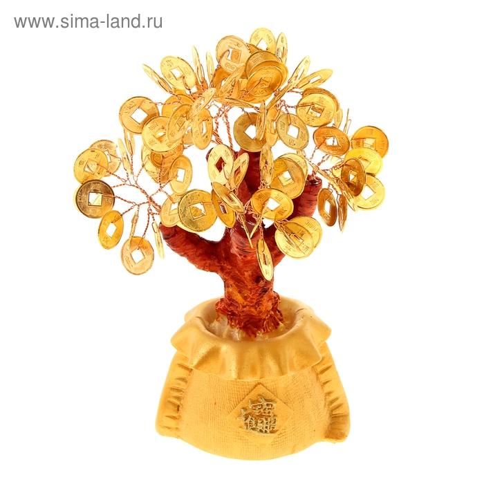 """Денежное дерево """"Золотой мешок"""""""